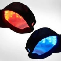 New Laser Cap Offers Red and Blue Light