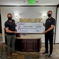 Bosley Raises $35k for Cancer